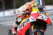 MotoGP - Nur dem Au�erirdischen unterlegen: Pedrosa trotz Sturz Zweiter
