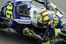 MotoGP - Ausgangsposition gerade noch im Rahmen: Rossi: Repsol Honda kaum zu schlagen
