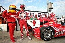 IndyCar - Montoya nur von Rang 19: Erste Startreihe f�r Ganassi in Iowa