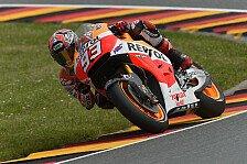 MotoGP - Bradl ausgezeichneter Dritter: Marquez auch bei wechselnden Bedingungen voran
