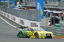 DTM - Eine Zehntel an der Pole vorbei: Audi: In Lauerstellung zu BMW