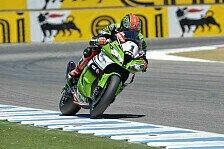 Superbike - Sykes in Laguna Seca zurück auf der Pole