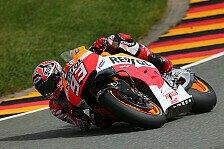 MotoGP - Bradl trotz Startvorteil deklassiert: Marquez gewinnt absolut verr�ckten Deutschland-GP