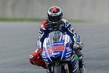 MotoGP - Sieg �ber Rossi als Trost: Lorenzo: Zu wenig Vertrauen im Nassen