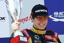 Formel 3 EM - Guter Kampf mit Verstappen: Ocon macht Dreifachsieg in Moskau perfekt