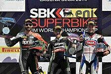 Superbike - Rea feiert Platz drei wie einen Sieg