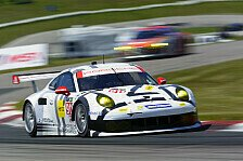 USCC - Porsche setzt drei 911 RSR in Austin ein