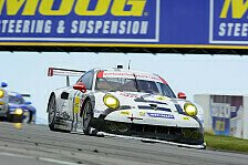 USCC - Gro�artiges Rennen: Mosport: Werksteam Porsche North America in Top 5
