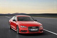 Auto - 25 Jahre Audi TDI-Technologie: Audi A7 Sportback 3.0 TDI competition