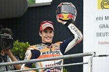 MotoGP - Seit 2002 patzte nur Pedrosa: Gutes Omen f�r Marquez: Bilanz der Halbzeit-Leader