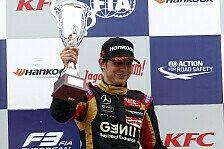 Formel 3 EM - Bilder: Moskau - 19. - 21. Lauf