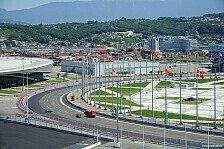Formel 1 - Strecken-Analyse: So funktioniert Sochi