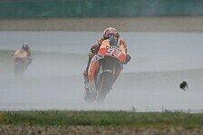 MotoGP - Crash in Kurve f�nf: Marquez st�rzt bei verregnetem Br�nn-Test