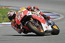 MotoGP - Noch nicht bereit: Marquez verzichtet auf Daumenbremse