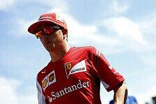Formel 1 - Es gibt noch viel zu tun: R�ikk�nen d�mpft Erwartungen f�r Belgien