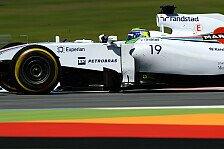 Formel 1 - Wir sind konkurrenzf�hig: Williams: Deutliche Fortschritte �ber den Tag