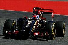 Formel 1 - Typischer Lotus-Freitag in Hockenheim: Lotus: Grosjean und Maldonado uneins �ber FRIC-Aus