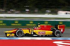GP2 - Mit Slicks zum Sieg gepokert: Stefano Coletti gewinnt spektakul�ren Sprint