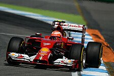 Formel 1 - Reifenabbau als gr��te Sorge: Ferrari: Defektteufel sucht R�ikk�nen heim