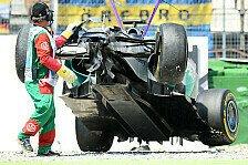 Formel 1 - Problem mit der Zuverl�ssigkeit: Die Defekt-Serie von Mercedes