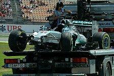 Formel 1 - Buddha-Bauch rubbeln: Hamilton: Therapie nach Hockenheim-Crash
