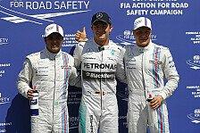 Formel 1 - Williams vor Red Bull: Rosberg auf Pole Position, Hamilton crasht
