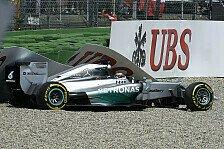 Formel 1 - Crash nach Bremsdefekt: R�ckschlag f�r Hamilton: Unfall in Q1