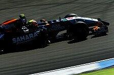 Formel 1 - Zufriedene Zwischenbilanz: Force India Vorschau: Ungarn GP