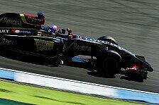 Formel 1 - Regentanz in Hockenheim: Grosjean: Das war das Limit