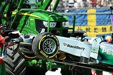 Formel 1 - Startplatz 20: Hamilton muss Getriebe wechseln