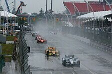 IndyCar - Zu extreme Bedingungen: Regen in Toronto: Zwei Rennen am Sonntag