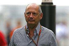 Formel 1 - Die Maschine muss laufen: Ron Dennis plant weitere Ver�nderungen