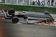 Formel 1 - N�chstes Kapitel der Pleite-Serie: Massas Horror: �berschlag nach Kollision