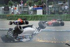 Formel 1 - Kein Platz gelassen: Magnussen: Massa-Unfall ungl�cklich
