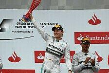 Formel 1 - Heimsieg im Motodrom!: Deutschland GP: Das Rennen im Live-Ticker