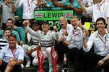 Formel 1 - Lob vom Chef f�r den WM-Leader: Wolff: Rosberg z�hlt zu den ganz Gro�en