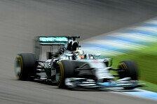 Formel 1 - Mercedes weiter vorn: Topspeeds in Deutschland: Hamiltons Aufholjagd