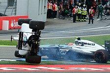 Formel 1 - Zu aggressiv: Massa: Immer noch vom Unfall genervt