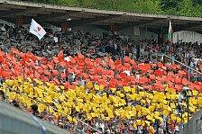 Formel 1 - Interesse ungebrochen: N�rburgring: Keine Sorgen wegen Fanschwund