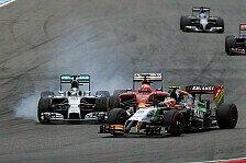 Formel 1 - Momentan geht alles schief: R�ikk�nen: Sandwich-Crash verhindert Punkte