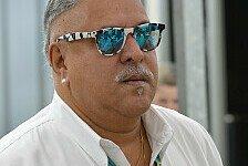 Formel 1 - Mehr Podiumspl�tze sind m�glich: Vijay Mallya: Der Indikator ist die Konstanz