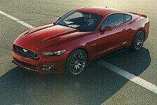 Auto - V8-Power aus den USA: Ford pr�sentiert neuen Mustang