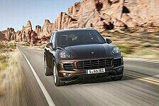 Auto - Effizienter und dynamischer: Porsche pr�sentiert neue Cayenne-Modelle