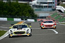 Blancpain GT Serien - Sch�den schon bei McLaren und Ferrari: Auftakttraining in Spa: Schneider am schnellsten