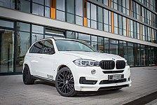Auto - Charakterstark und souver�n: BMW: Aggressiver Look f�r den neuen X5