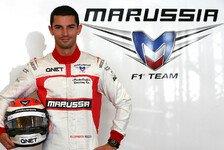 Formel 1 - GP-Deb�t auf der Ardennen-Achterbahn: Rossi ersetzt Chilton in Belgien