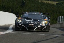Blancpain GT Serien - Video: Ojjehs Crash in der Eau-Rouge