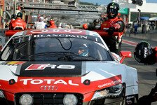 Blancpain GT Serien - Quantitativer Vorteil f�r Audi: Relativ ruhige Nacht in Spa