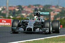 Formel 1 - Ferrari zweite Kraft: 1. Training: Hamilton legt in Ungarn vor