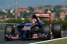 Formel 1 - Ein normaler Freitag: Daniil Kvyat: Hausaufgaben zu erledigen